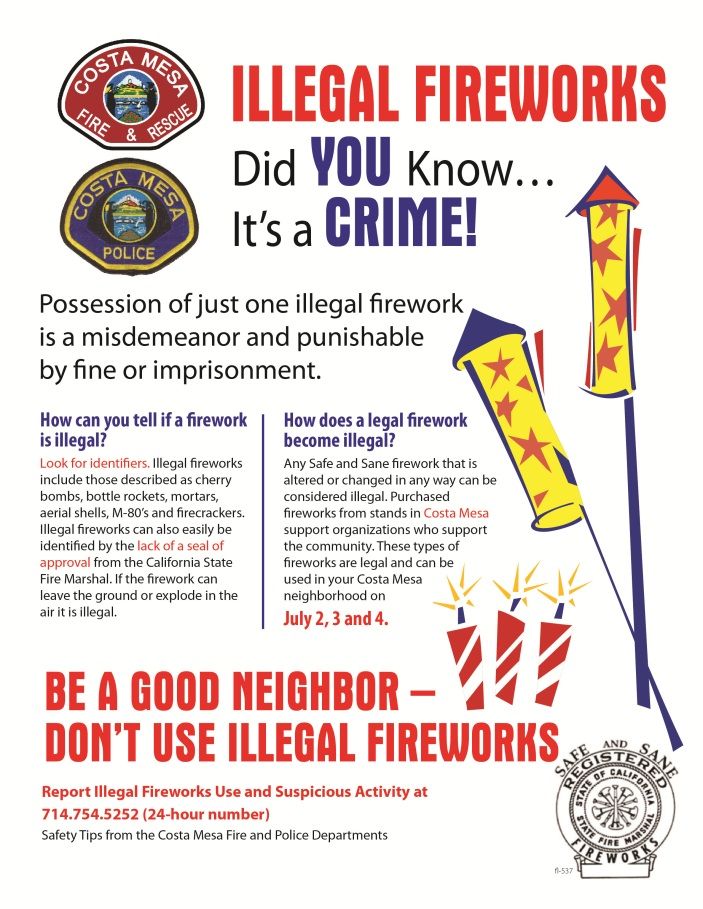 fireworks-illegal flyer-English