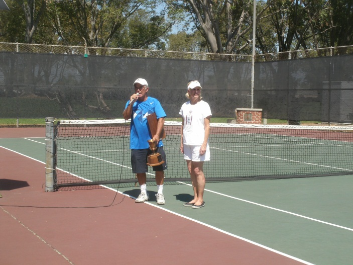 Hank Lloyd Tournament Director CMTC, Wendy Leece Council Woman