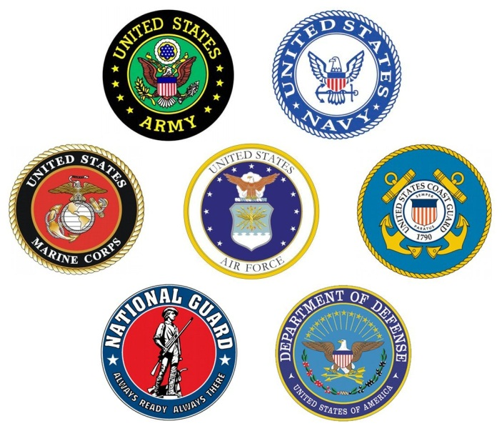 United States Military Logos
