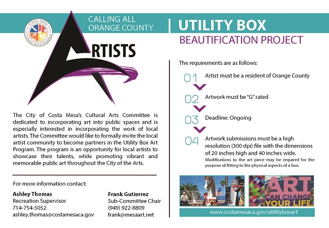 Utility Box Beautification Project