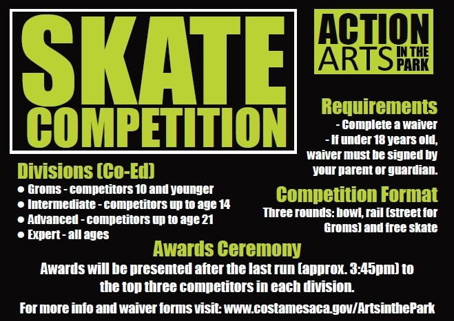 SKATE COMPETITION FLYER